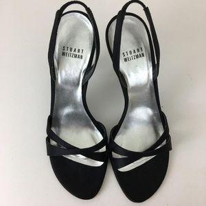 Stuart Weitzman Black Delovely Formal Shoes